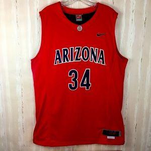 Nike Elite Authentic Arizona XL Red Bball Jersey